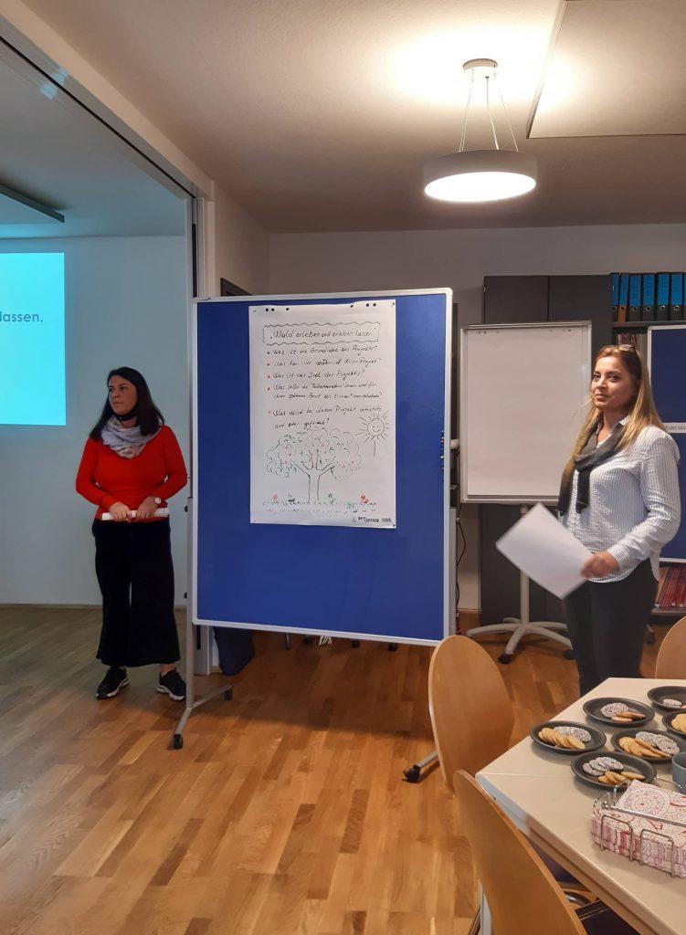 Unterrichtssituation IQ Sprachqualifizierung im Berufsfeld Pädagogik im Dialog-Institut Kassel